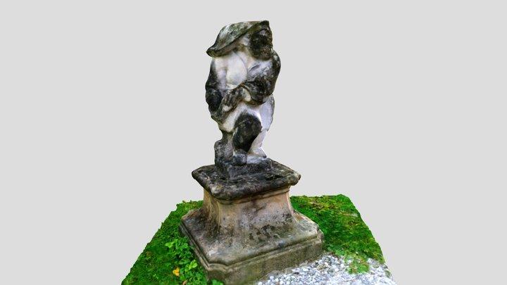 Garden Statue, Schloss Leopoldskron 3D Model