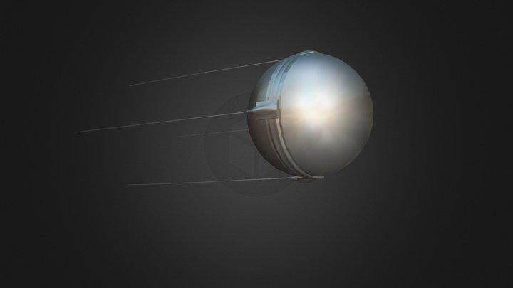 Sputnik 3D Model