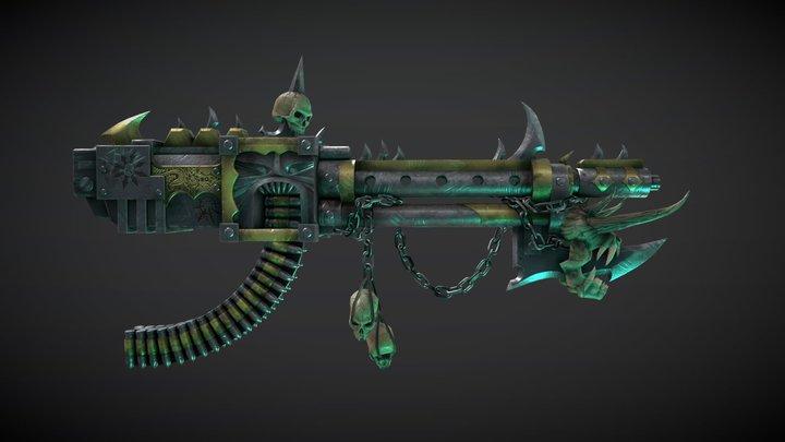Bloodthirsty Reaper 3D Model