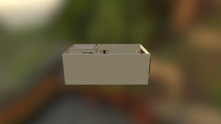 Motel 3D Model