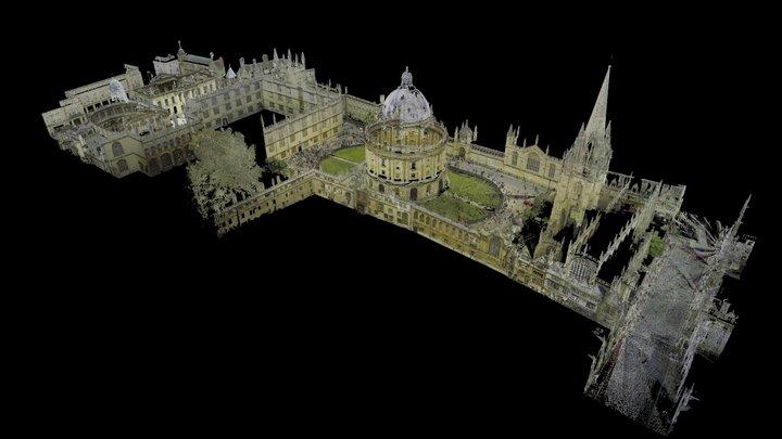 Radcliffe Camera - 3D Point Cloud (E,C) 3D Model