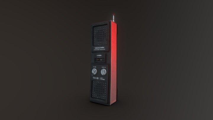 Stranger Things Walkie Talkie 3D Model