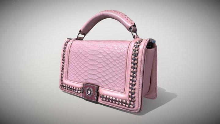 Pink Pochette - 3D Photoscanned PBR 3D Model