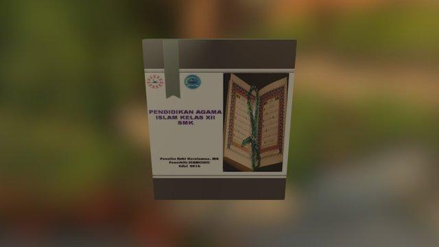 Buku Pendidikan Agama Islam 3D Model