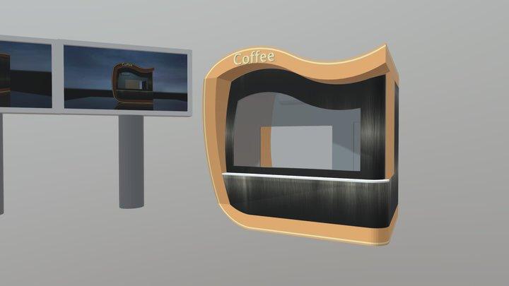 Coffee #street-food-vendor-challenge 3D Model