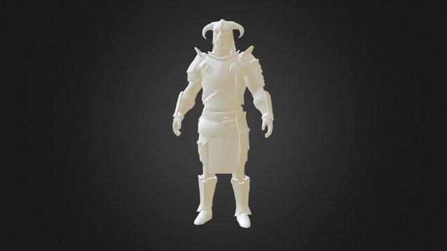 Dovahkiin (Dragonborn) (Skyrim) HD 3D Model