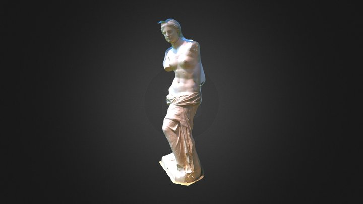 Cast of Venus de Milo (Blanton Museum) 3D Model