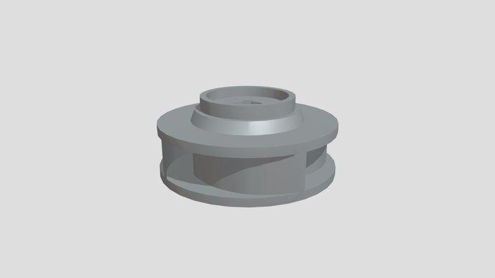 Рабочее колесо насоса 3D Model