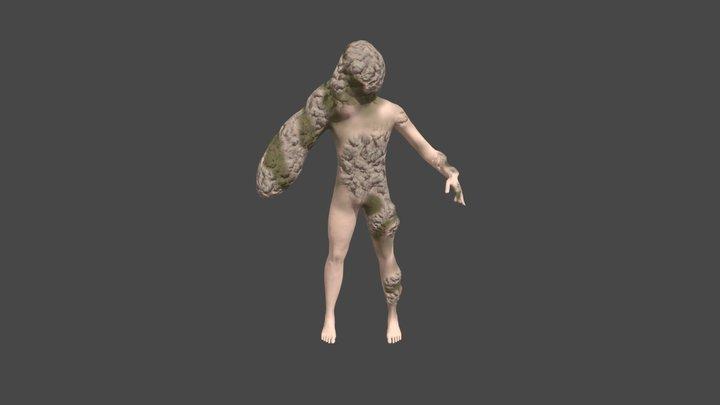 Hand Mutant 3D Model
