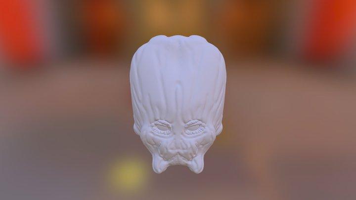 Alien Model 3D Model