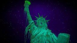 """Tilt Brush: """"America great again? 3D Model"""