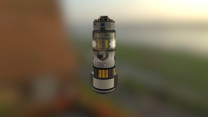 Auto-Saved Ship 3D Model