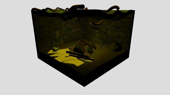 old forgotten Dungeon 3D Model
