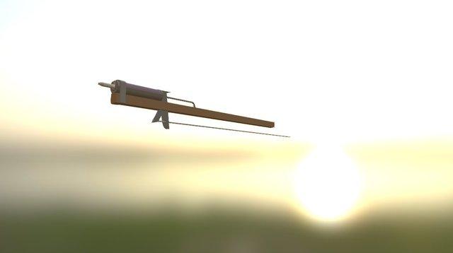 Long Caulk Arm 3D Model
