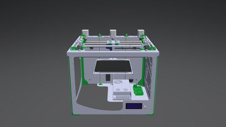 Frax3D 3D Model