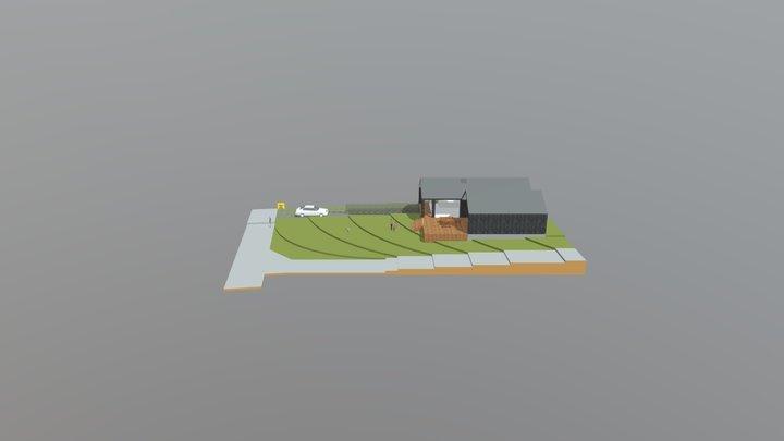 Arkinaut Case #18-229 Ny villa 3D Model