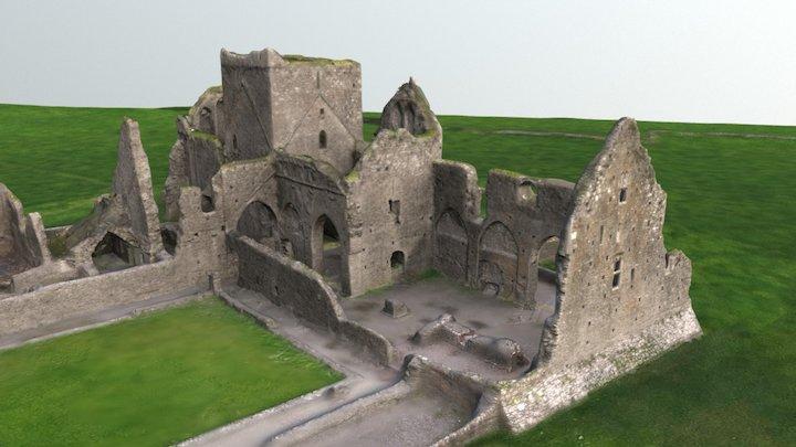 Ruins of Hore Abbey 3D Model