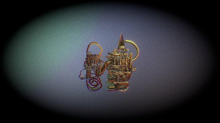 the final machine 3D Model