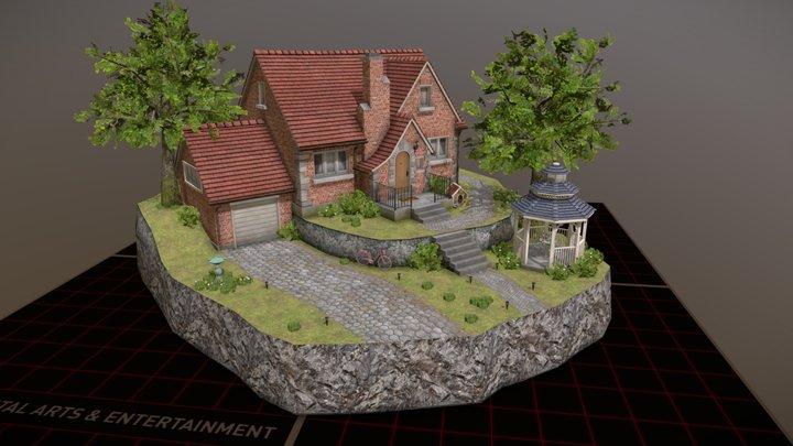 Diorama - DAE Exam 2020/2021 3D Model