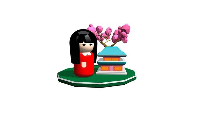V3D Doll 3 3D Model