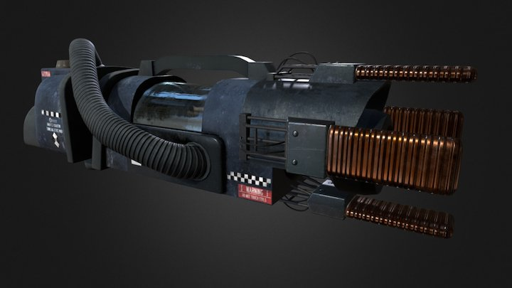 Mark III portalgun 3D Model