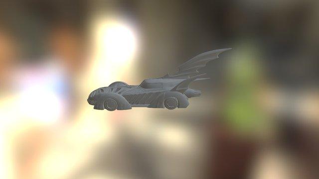 Batmobile 3D Model