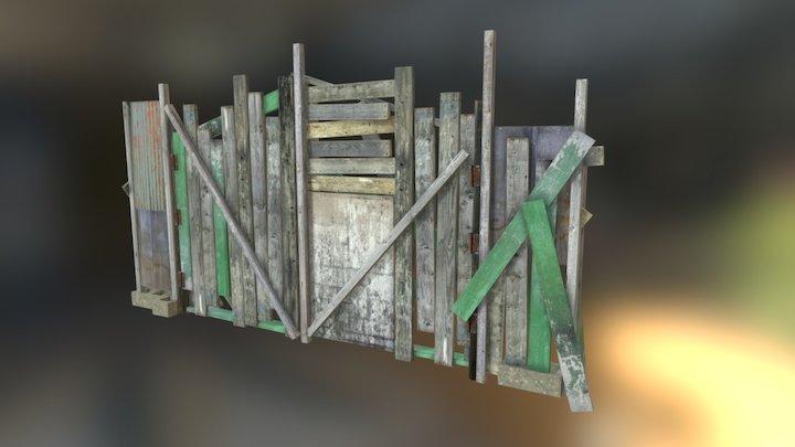 barricade_gate 3D Model
