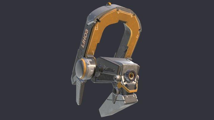 LIHO3 - GAP 3D Model