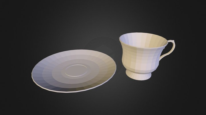 melanies_cup_and_saucer 3D Model