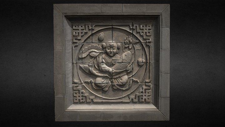 Chinese relief 3D Model