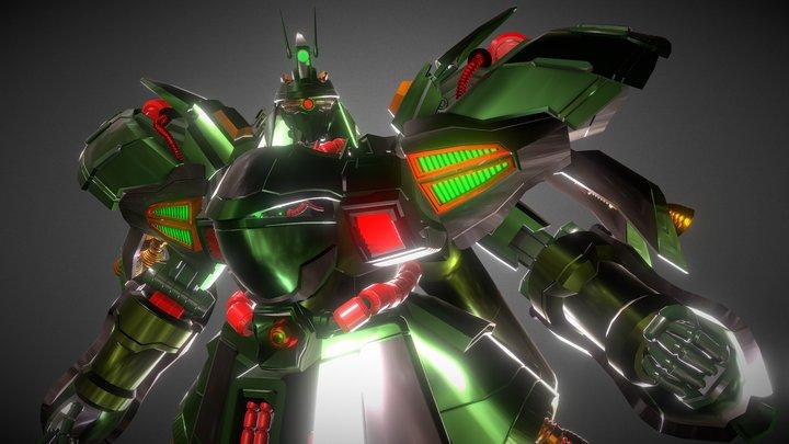 The Green Guerrilla - 3D Settings Challenge 3D Model