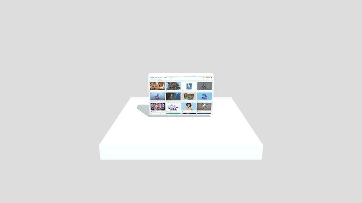 Sketchfab website 3D Model