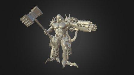 Warmaster 3D Model