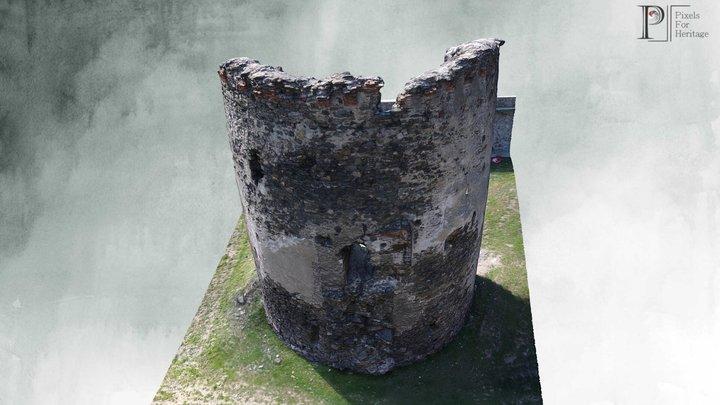 Turnul Spart de la Boița (jud. Sibiu) 3D Model