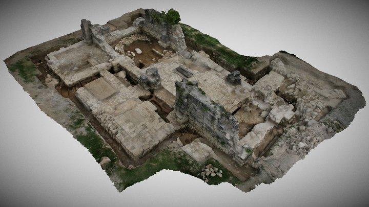 Gora - crkva Uznesenja Blažene Djevice Marije 3D Model