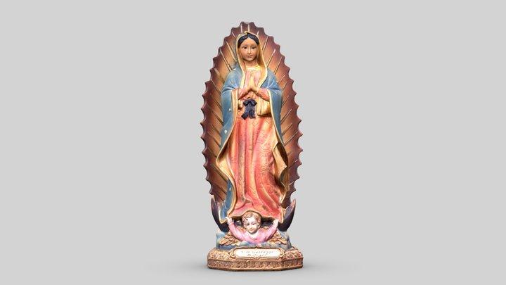 Notre-Dame de Guadalupe 3D Model