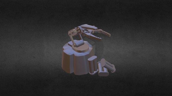 Stump Mech Arm 3D Model