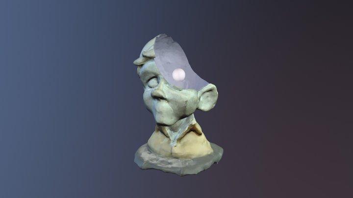 Divot Head Photogrammetry 3D Model