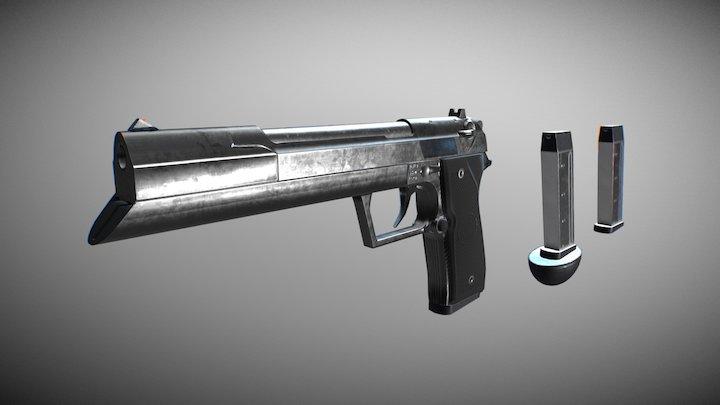 Grammaton Cleric Gun 3D Model