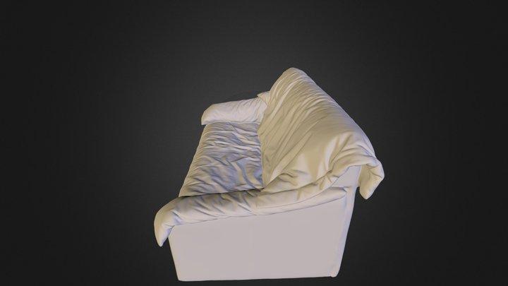 Leather sofa.obj 3D Model