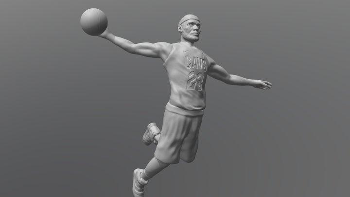 Lebron James for 3D printing 3D Model