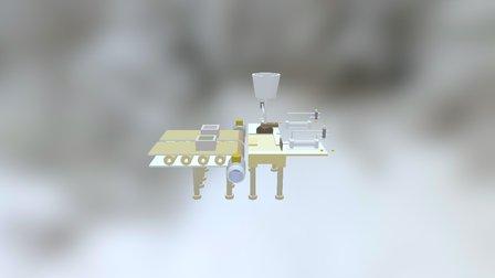 Unité De Remplissage 3D Model