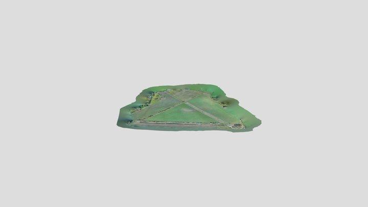 Acaster Old Airfield Farmland Sinkhole 3D Model