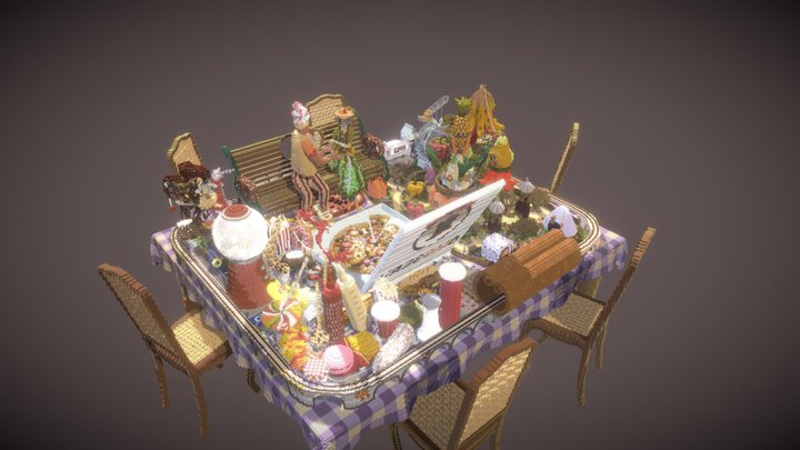 Stand By Meal 3D Model