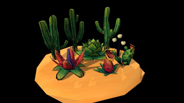 Electric Lullaby - Plants 3D Model