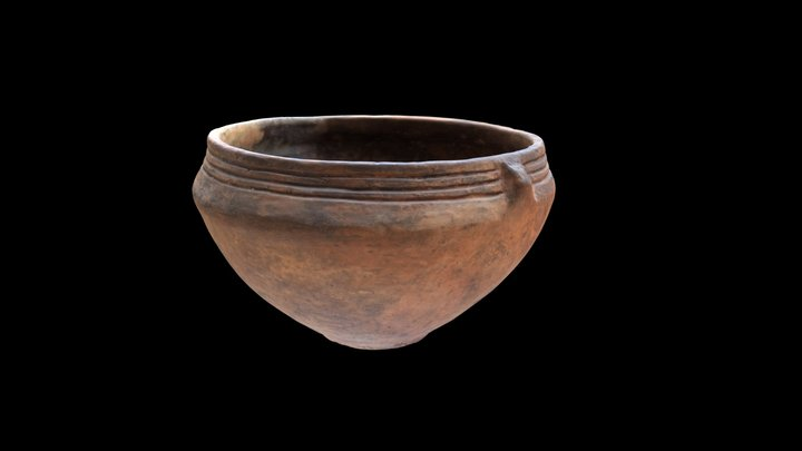 Stone Age vessel from Nida 3D Model