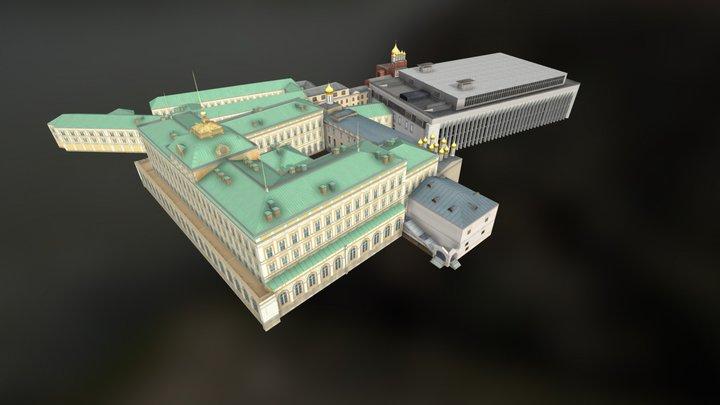 kremlin blok3 3D Model