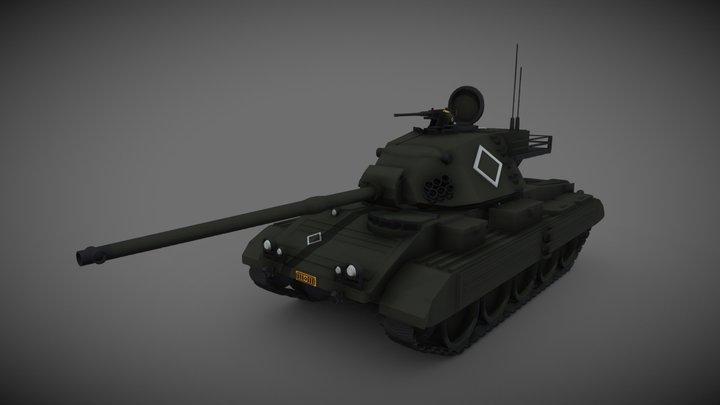T-49 3D Model