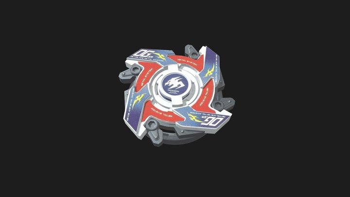 Beyblade - Dragoon MS 3D Model