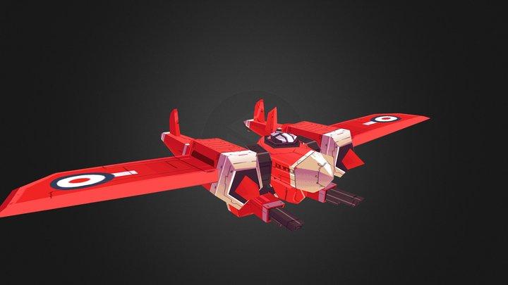 Plane Mode 3D Model